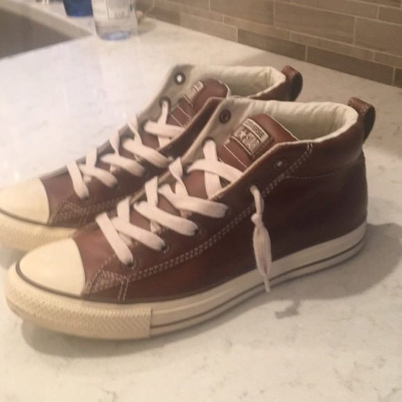4080052504f3 Converse Other - Converse All Star Premium Leather Chuck Taylors